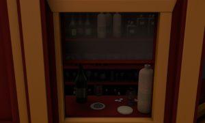 The cinema had its own liquor booth