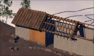 The construction of an Etruscan house